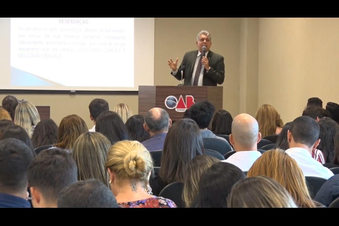 Juiz do TJAL palestra no I Congresso Nordestino de Direito Civil
